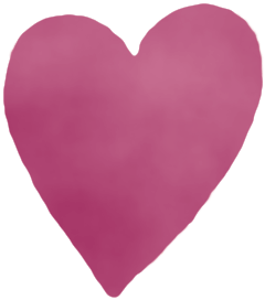 kleines Herz gefüllt