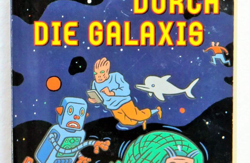 [Lieblingsbücher-Challenge] Douglas Adams – Per Anhalter durch die Galaxis