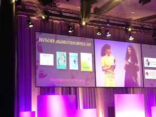 Verleihung Deutscher Jugendliterautpreis 2014