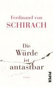Schirach_Würde_antastbar_Piper