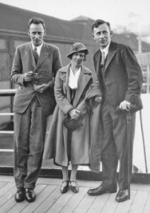 Gregory Bateson, Margaret Mead, and Reo Fortune, Sydney, July 1933 Quelle: monoskop.org