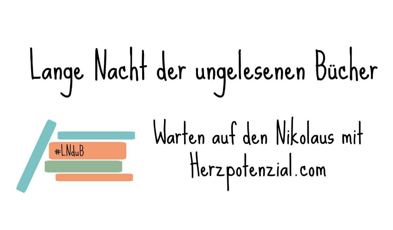 Banner Lange Nacht der ungelesenen Bücher #LNduB @ Herzpotenzial