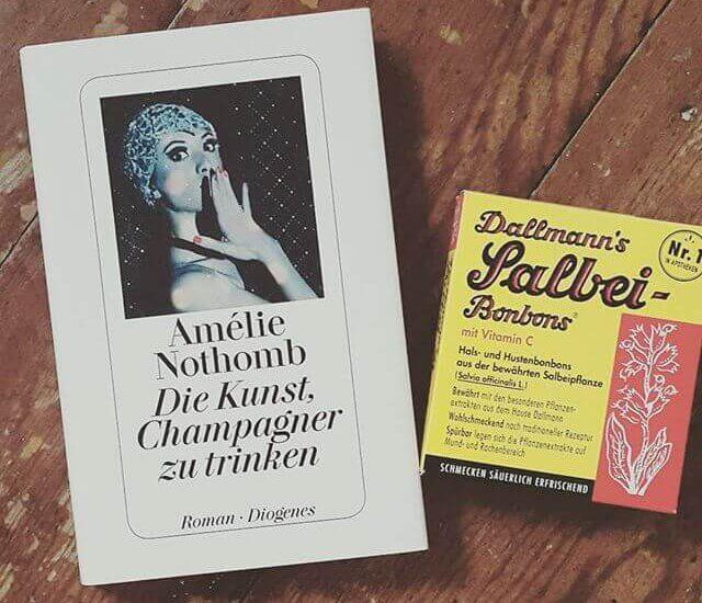 Amélie Nothomb – Die Kunst, Champagner zu trinken