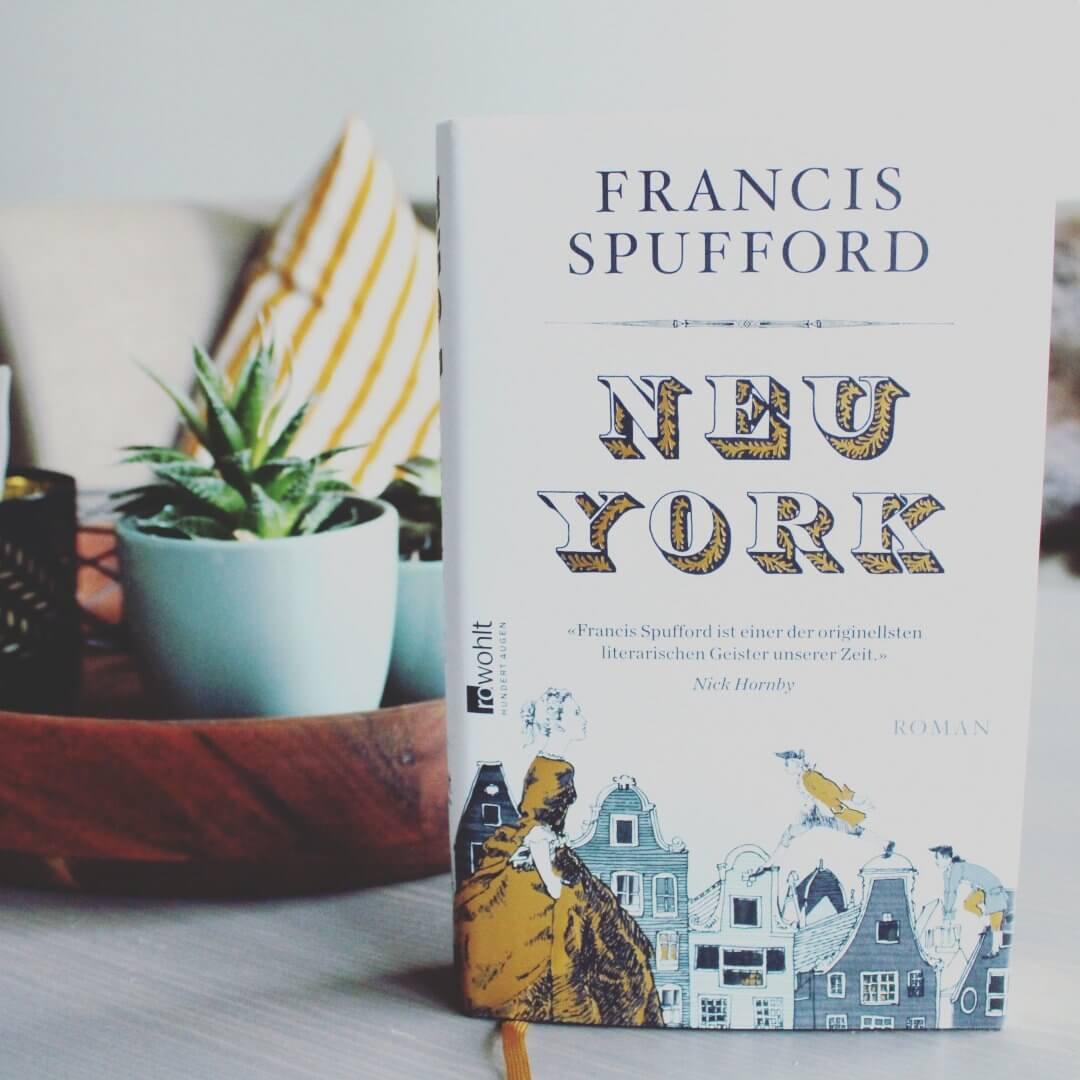 Frances Spufford Neu York auf Couchtisch