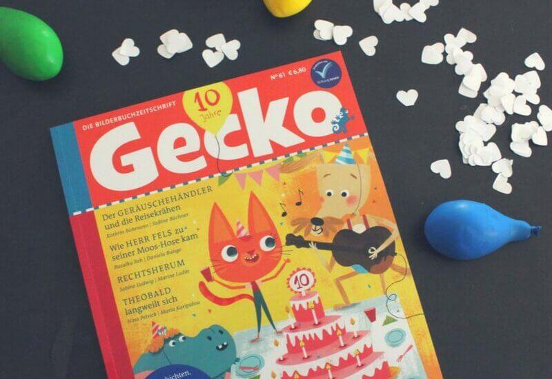 Happy Birthday! Gecko wird 10 Jahre alt