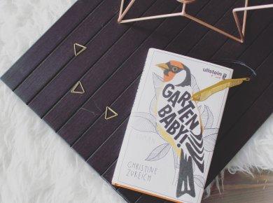 """Buch auf Dekoration Christine Zureich """"Garten,Baby!"""""""