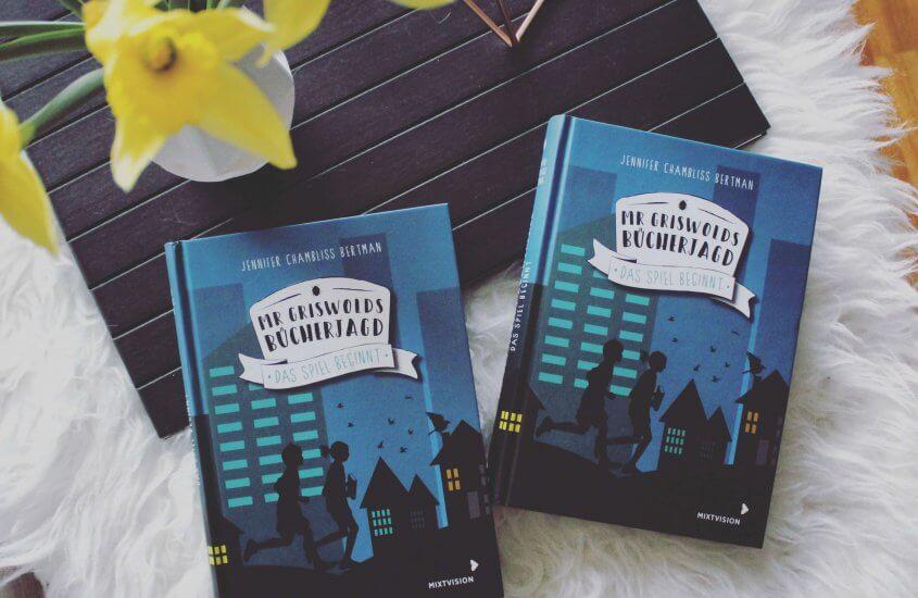 WERBUNG|Geh mit uns auf Mr. Griswolds Bücherjagd!