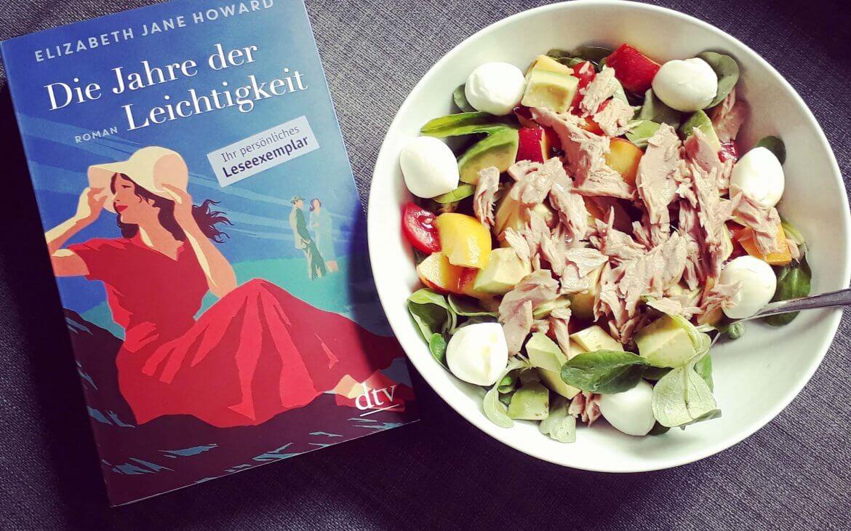Cover mit Frau im roten Kleid