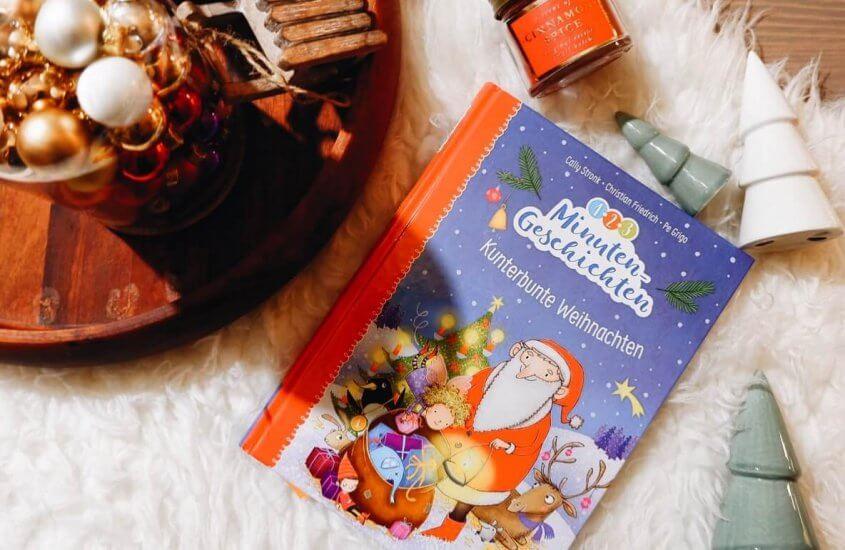 1-2-3-Minutengeschichten: Kunterbunte Weihnachten