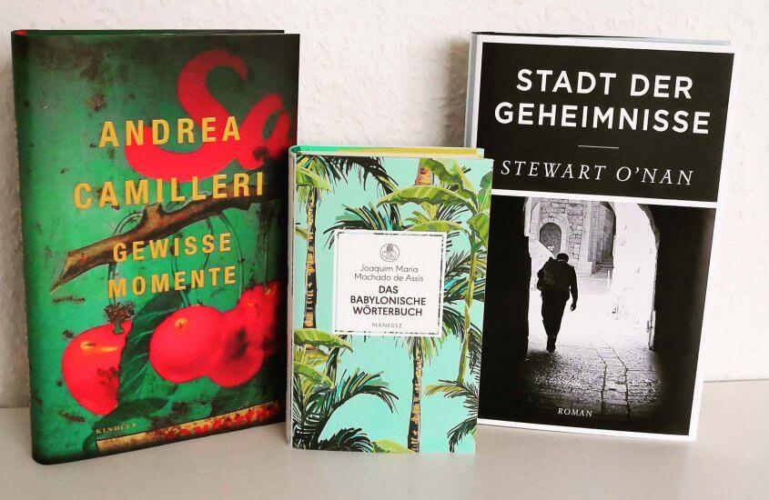 Schnelldurchlauf: 3 Bücher kurz vorgestellt