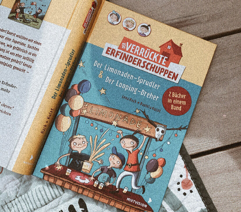 Kinderbuchreihe mit Knall