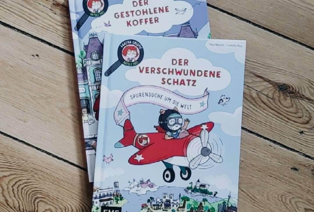 Interaktives Rätselbuch: Auf Spurensuche mit Agatha Crispie