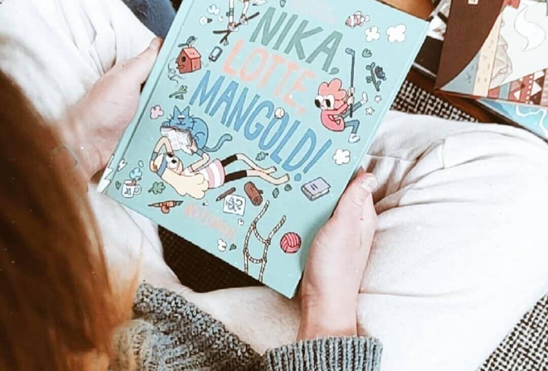 Nika, Lotte, Mangold – Comics frisch und cool