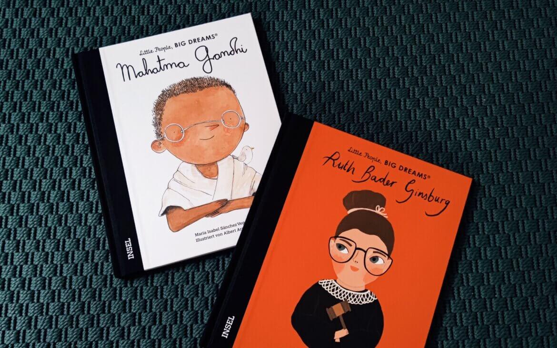 """Endlich Nachschub! Die neuen Bände der """"Little People, Big Dreams""""-Reihe sind da"""